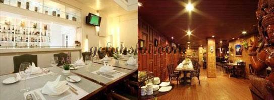 บรรยากาศร้านอาหารใน Poipet Resort